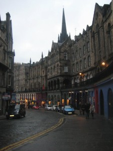 Edinburgh. Courtesy of The World Wanderer.