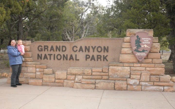 This traveling family is all about the National Parks.