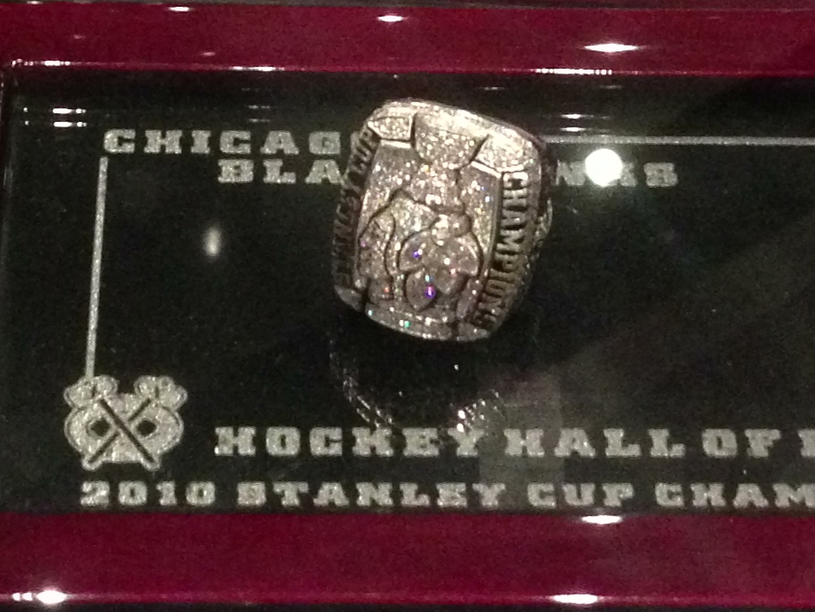Blackhawks' Bling: 2010 Stanley Cup Championship ring