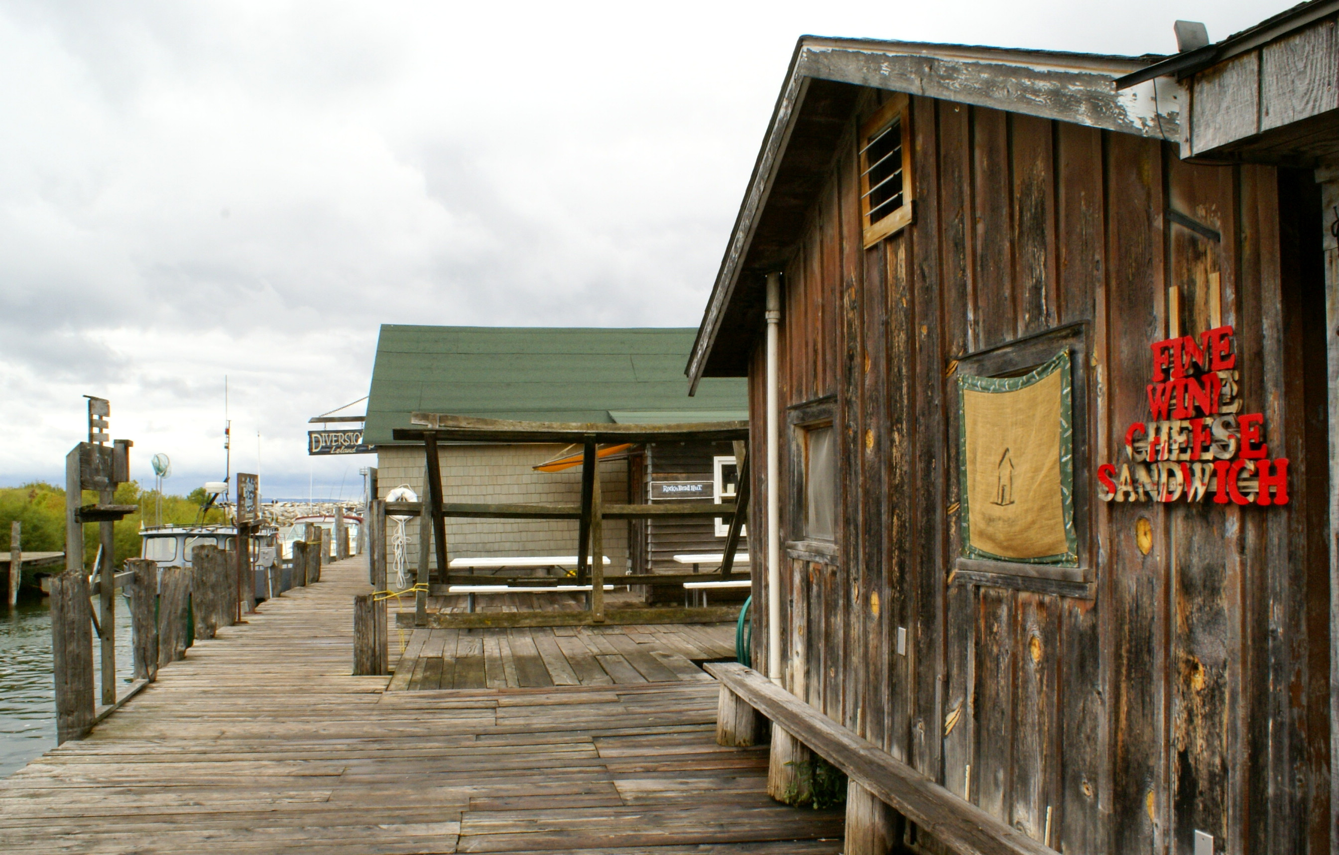 Dock & shanties