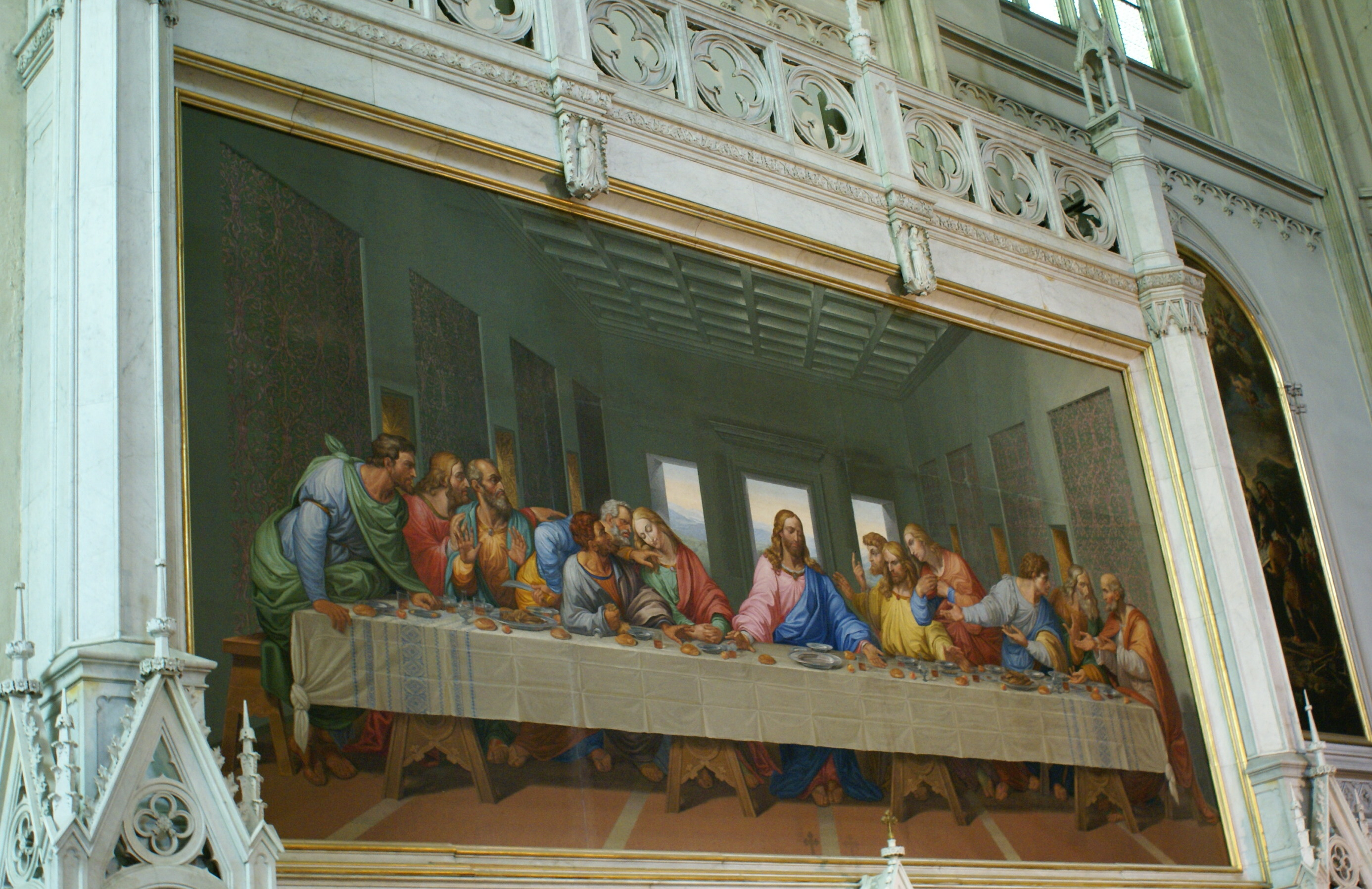 The Last Supper mosaic | Minoritenkirche | Vienna, Austria