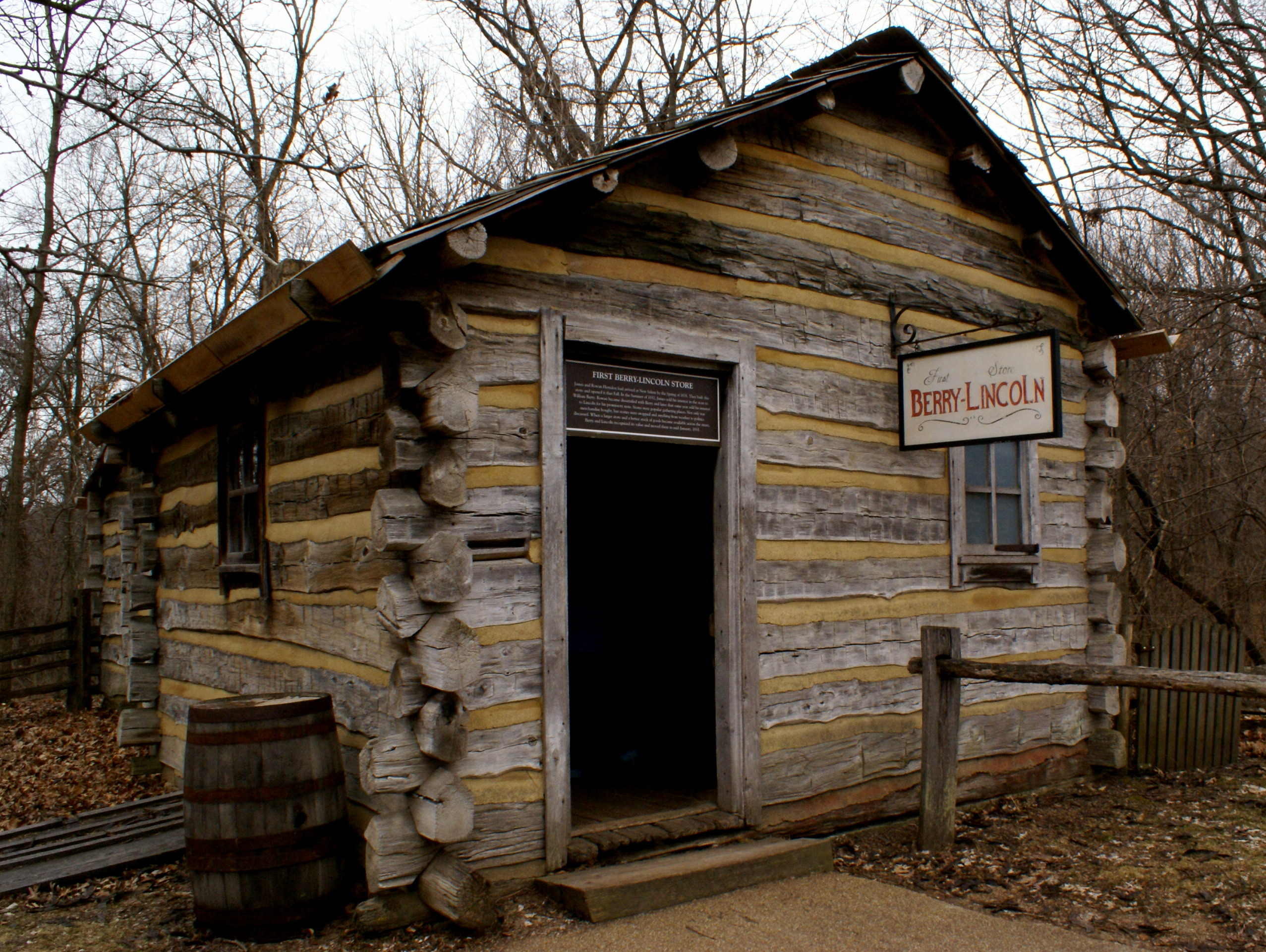 First Berry-Lincoln Store | Lincoln's New Salem State Historic Site