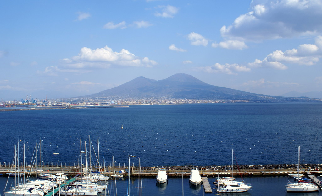 Bay of Naples | Mt. Vesuvius