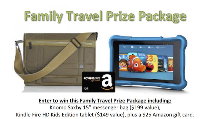 Win a Family Travel Prize Package!