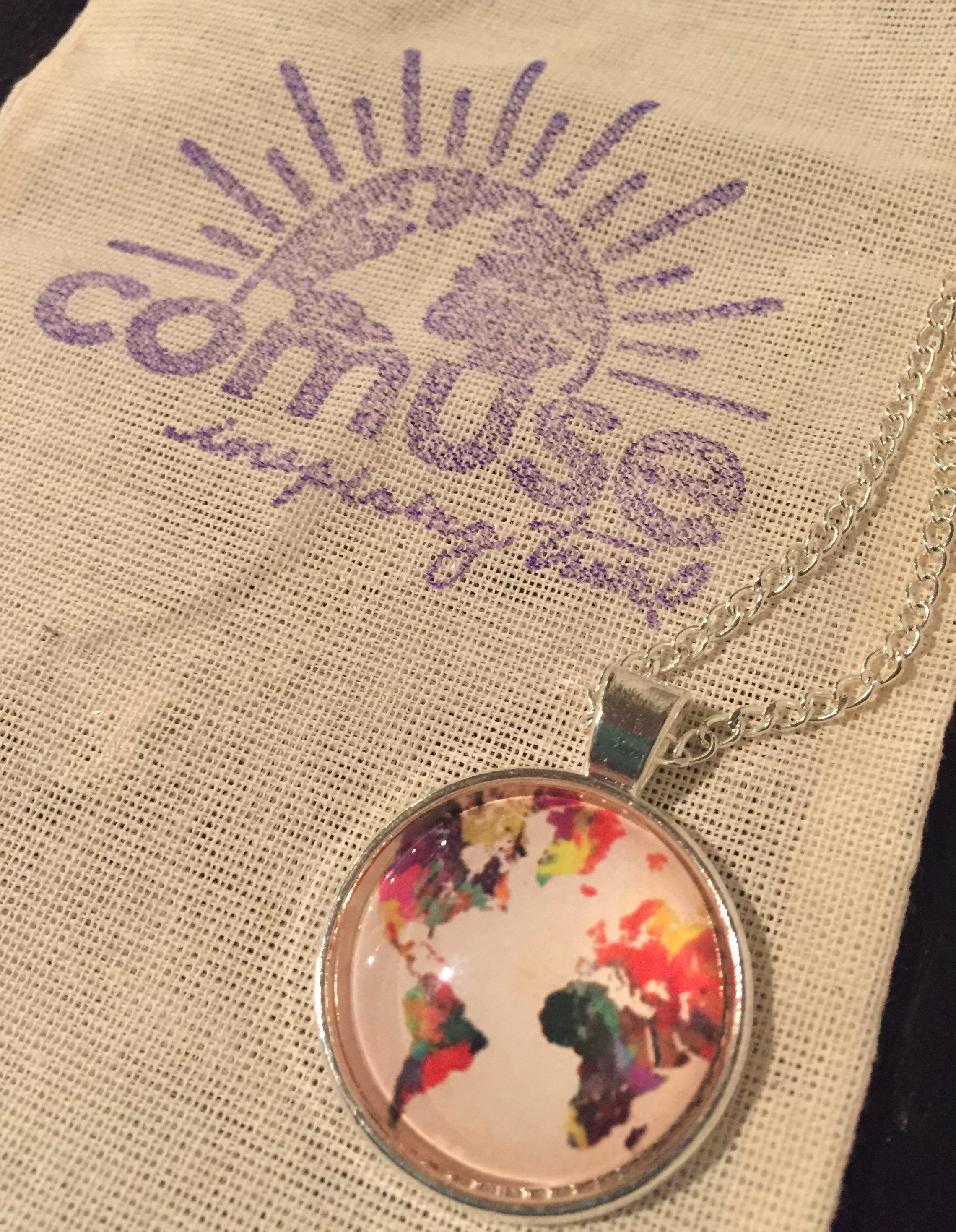 If You're Mappy and You Know It Necklace