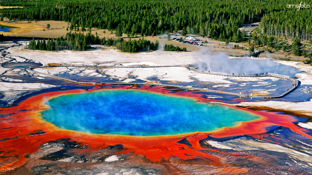 Grand Prismatic Spring | Yellowstone National Park