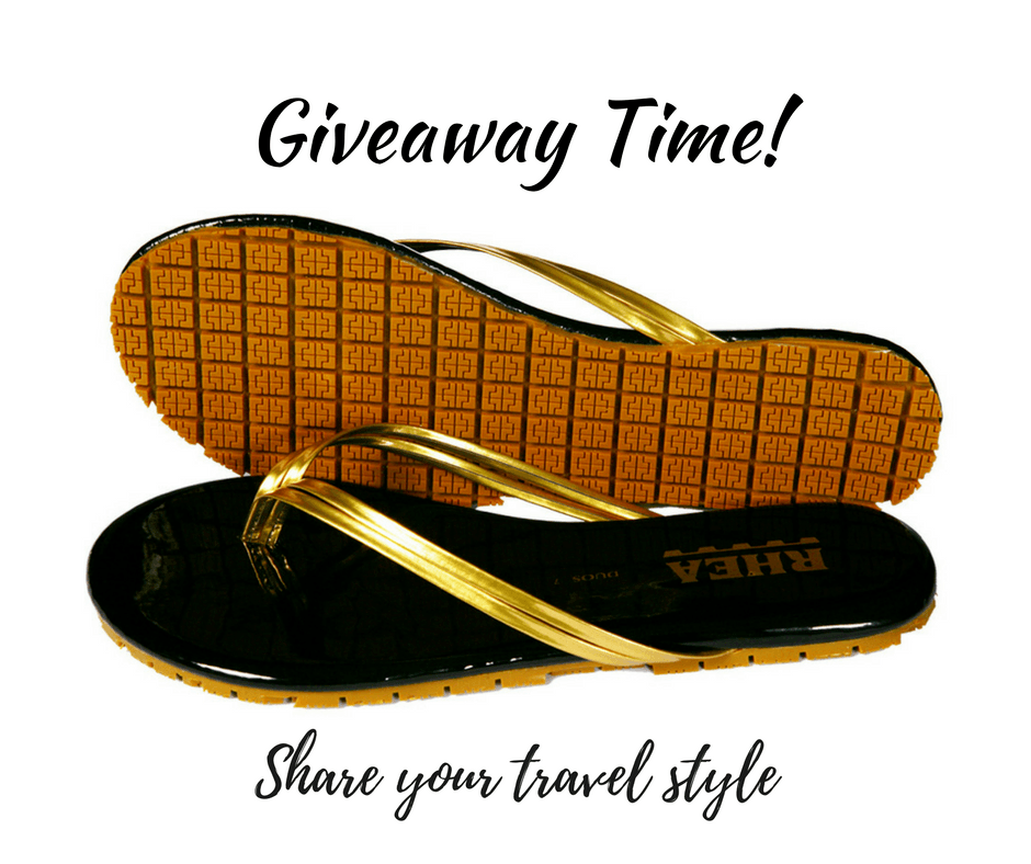Share your travel style with Rhea Footwear and To The Tens