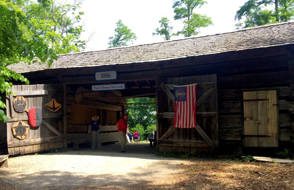 Lenape Indian Camp at Conner Prairie | Fishers, Indiana
