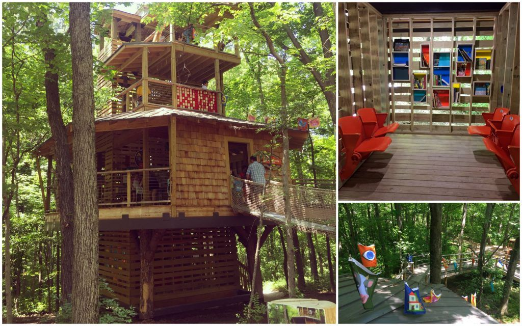 Treetop Outpost | Conner Prairie | Hamilton County, Indiana