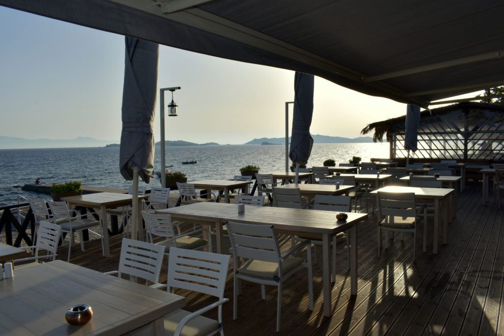 Seaside dining at The Golden Hook | Ouranoupolis | Halkidki | Greece