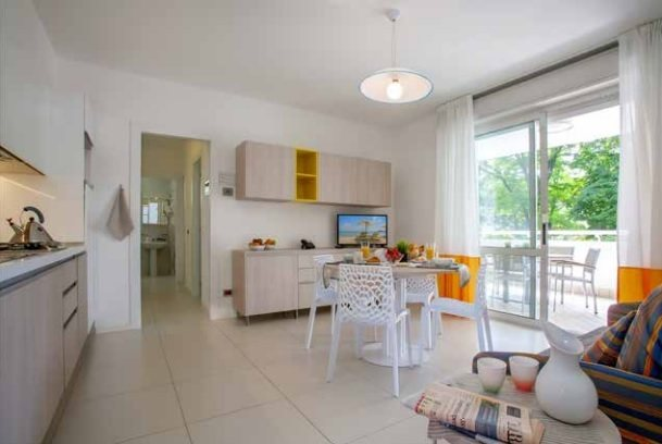 Apartment living space   Residence Serenissima   Bibione, Italy