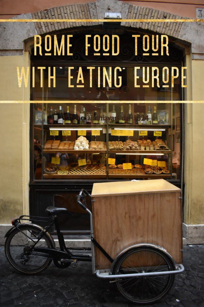 Rome Food Tour With Eating Europe