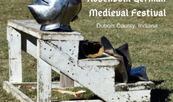 German culture and medieval history at Rosenvolk Festival in Dubois County, Indiana