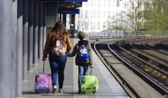 Tips for traveling with babies and young children