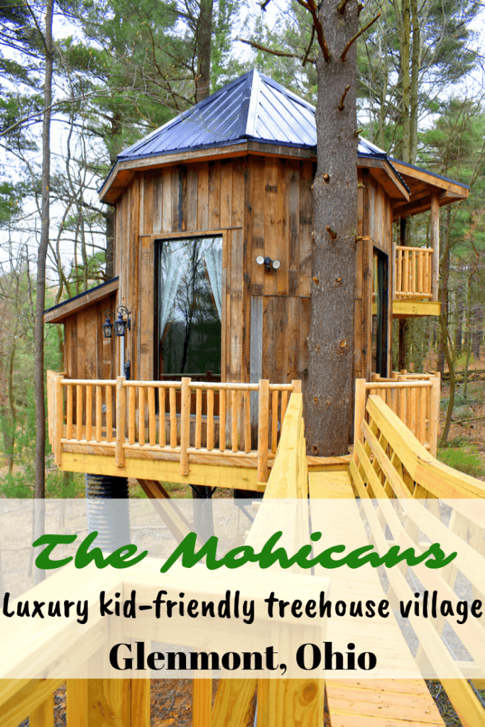 The Mohicans | Luxury kid-friendly treehouse village in Glenmont, Ohio