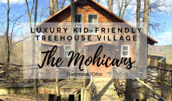 The Mohicans: Luxury kid-friendly treehouse village in rural Ohio
